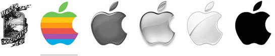 apple-evolution-logos
